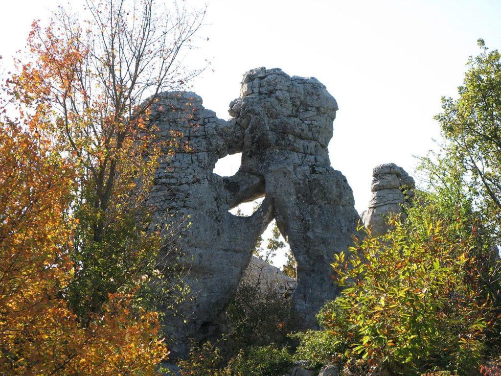Les Bois de Païolive en Ardèche